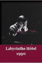 Affiche Labyrinthe Hotel